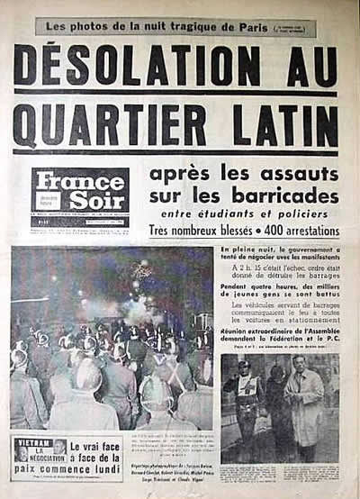 """Désolation au quartier latin"""