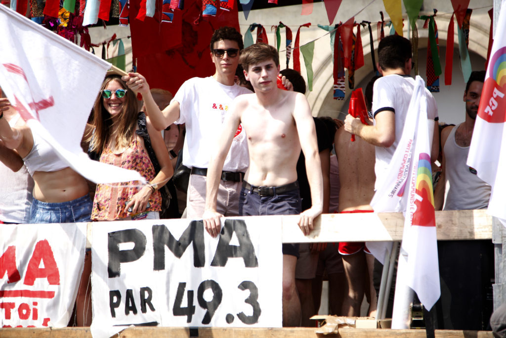 Marche des fiertés 2018 - « PMA par 49.3 »