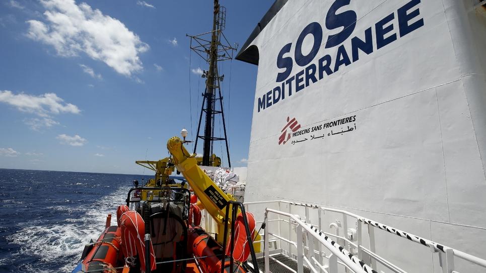 SOS Méditerranée - Médecins sans frontières