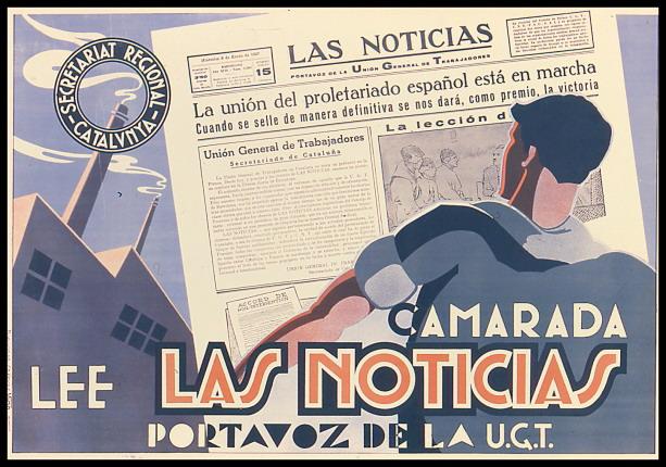 Guerre d'Espagne : affiches du PSUC et de l'UGT
