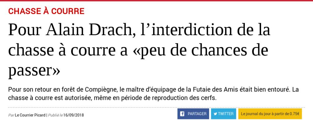 Courrier Picard, Alain Drach