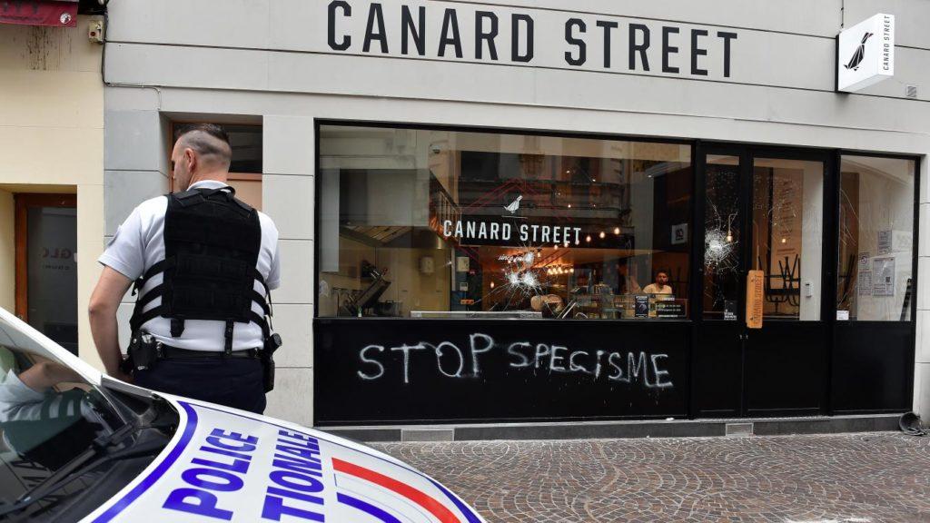 Canard street, « stop spécisme »