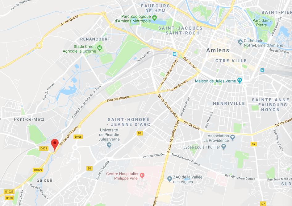 Amiens Route de Rouen