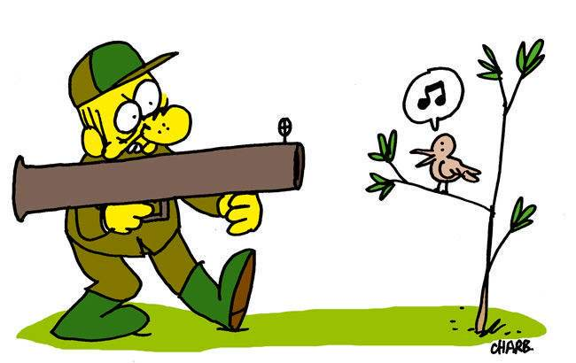 Charb chasseur