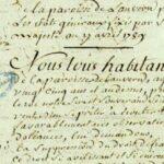 Les cahiers de doléances de 1789, une expérience démocratique française marquante