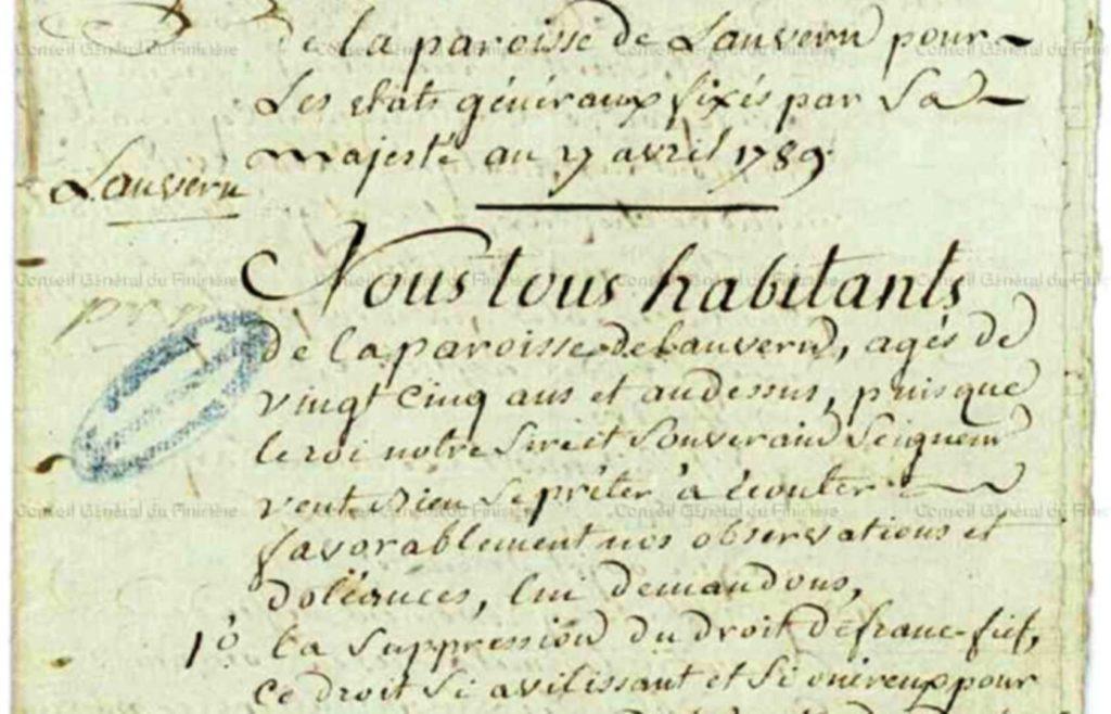Read more about the article Les cahiers de doléances de 1789, une expérience démocratique française marquante