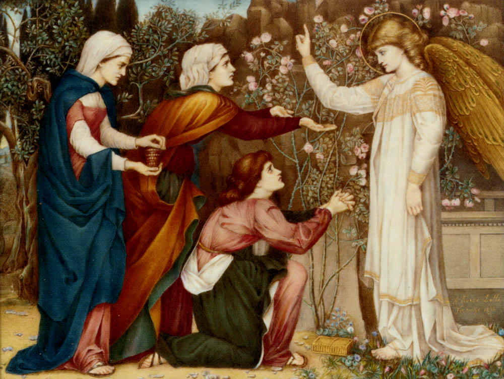 Why seek ye the living among the dread? St Luke, Chapter XIV, verse 5