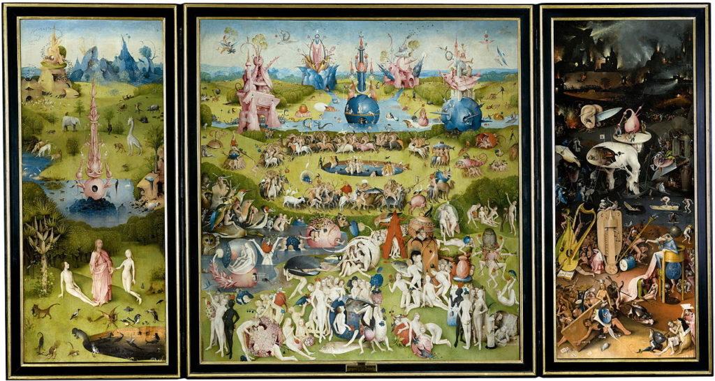 Le Jardin des délices, Jérôme Bosch, 1500-1505