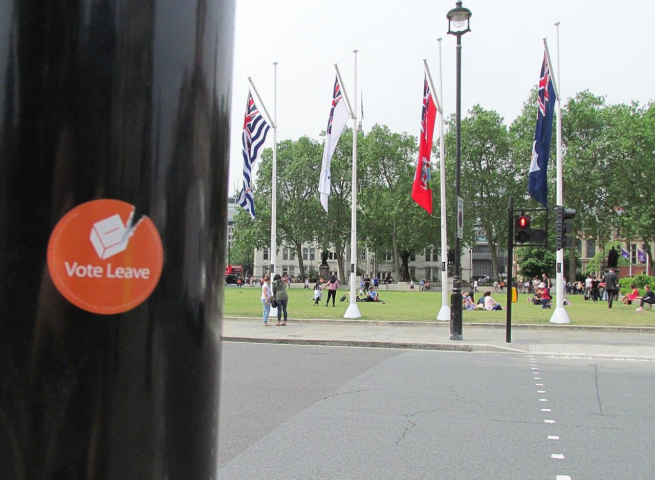 « Vote Leave », Londres, 7 juin 2016