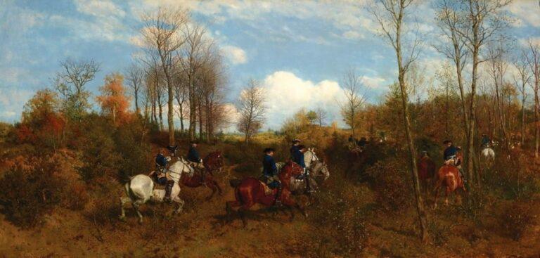 Read more about the article Un panorama de la chasse à courre