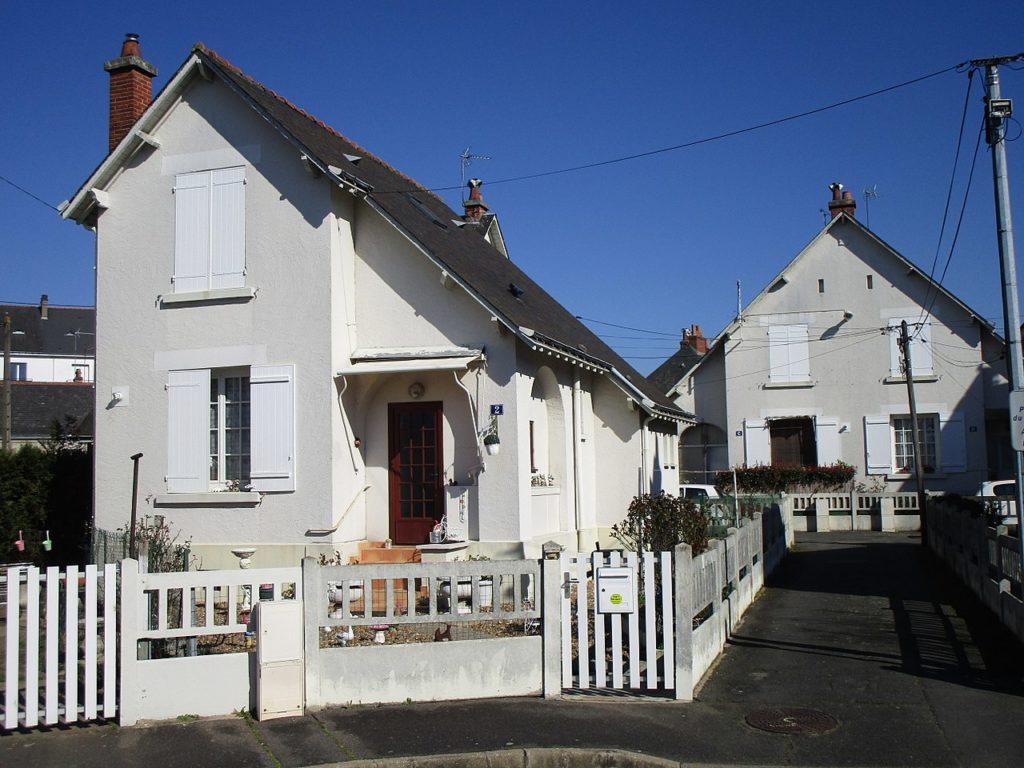 Maison de la cité Jolivet, quartier La Fuye-Velpeau, à Tours
