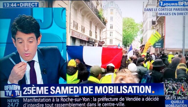 Read more about the article Acte XXV des gilets jaunes : vers la récupération électorale