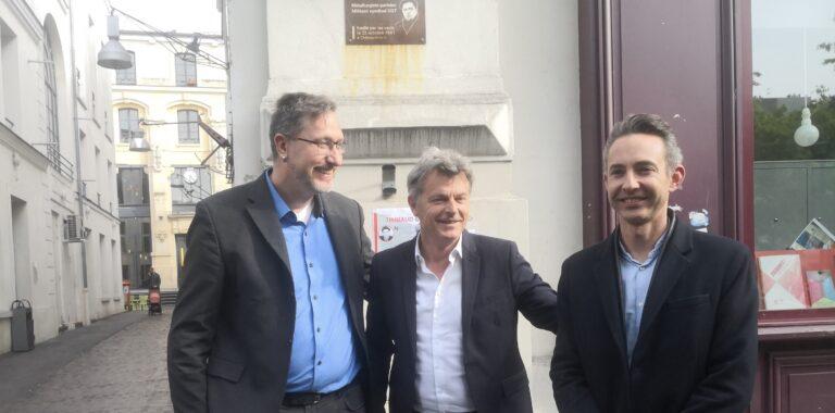 Read more about the article Le PCF et Die Linke rendent hommage à Jean-Pierre Timbaud en plaidant en faveur d'une Europe de la paix