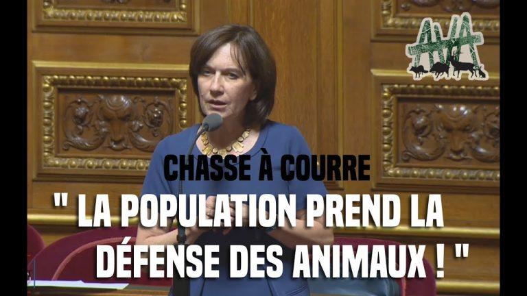 Read more about the article L'intervention de la sénatrice de l'Oise Laurence Rossignol contre la chasse à courre