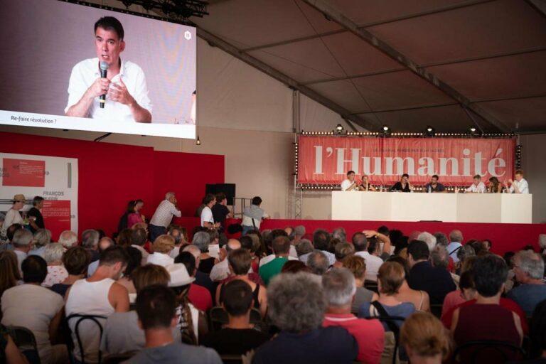Read more about the article La Gauche à la Fête de l'Humanité: l'unité «salade, tomate, union»