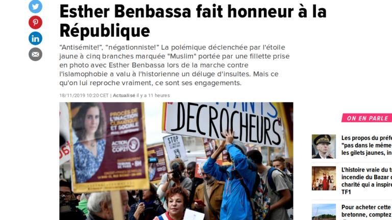Read more about the article La tribune postmoderne en faveur d'Esther Benbassa