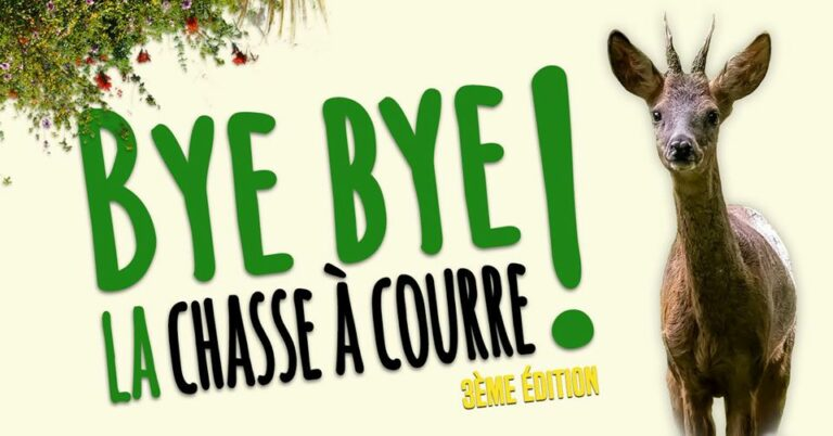 Read more about the article «Bye Bye la chasse à courre!» le 4 avril 2020