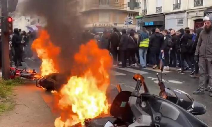 Read more about the article Le nihilisme des gilets jaunes et de l'ultra-gauche manifestants malgré les mesures de confinement