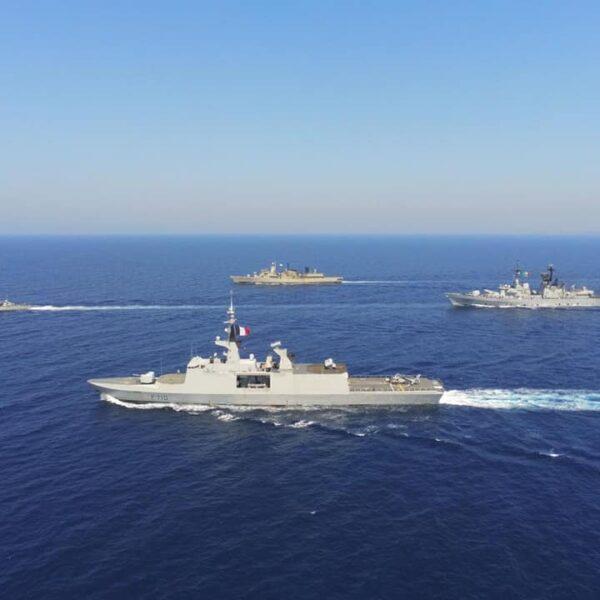 Vers la guerre: l'Armée française se déploie avec la Grèce face à la Turquie