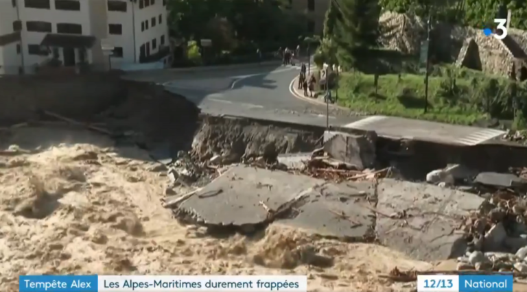 Read more about the article Alpes-Maritimes: le groupe d'entraide lancé par France 3 Côte d'Azur suite à la tempête