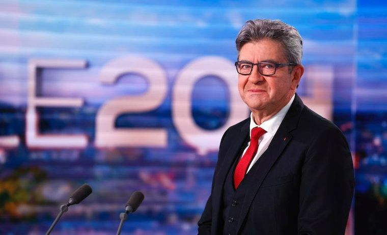 La Gauche réagit froidement à la candidature de Jean-Luc Mélenchon