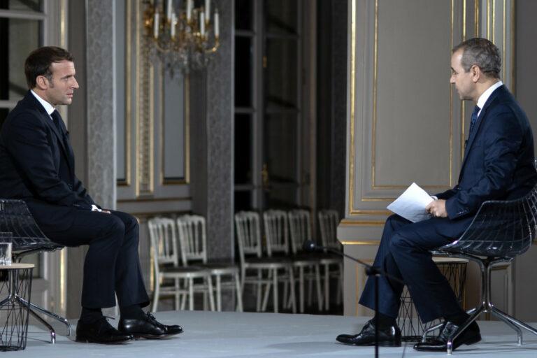 Read more about the article L'hallucinante interview d'Emmanuel Macron à Al Jazeera
