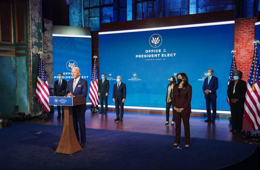 Joe Biden ou comment Wilmington entend prendre la tête du monde