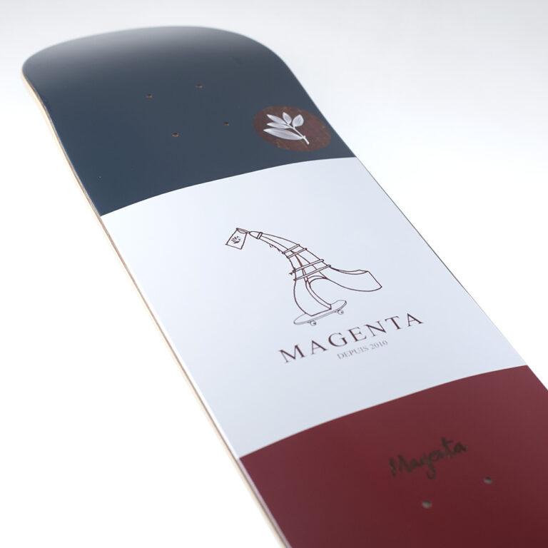 Read more about the article Magenta skateboard, la touche à la française
