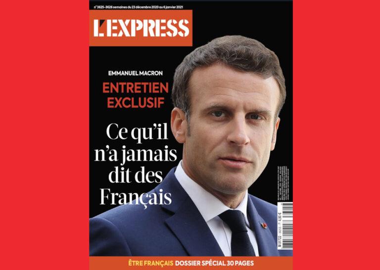 Read more about the article L'interview stratégique d'Emmanuel Macron dans l'Express