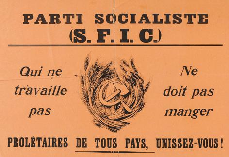 Il y a cent ans au congrès de Tours naissait en France le Parti Communiste