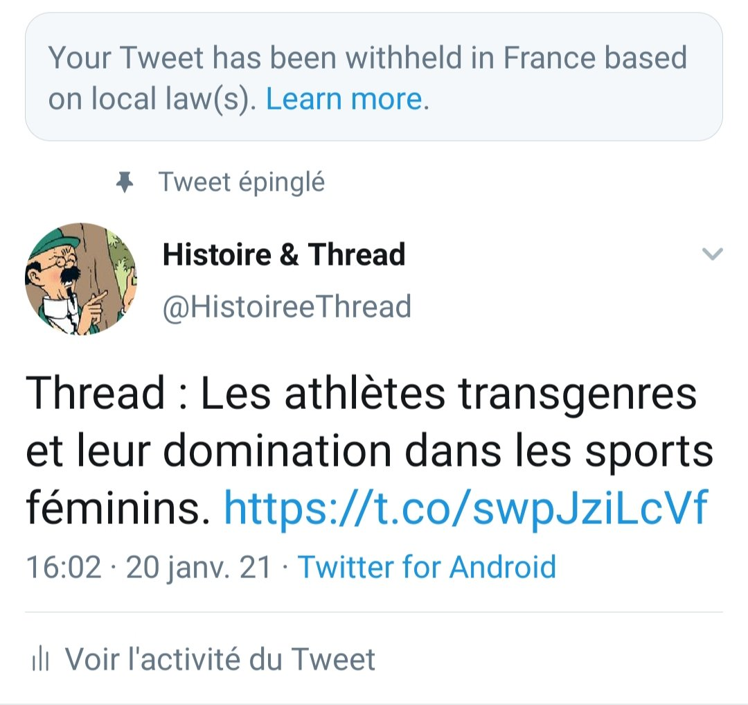 Twitter censure une discussion sur la domination des athlètes «trans» dans le sport féminin