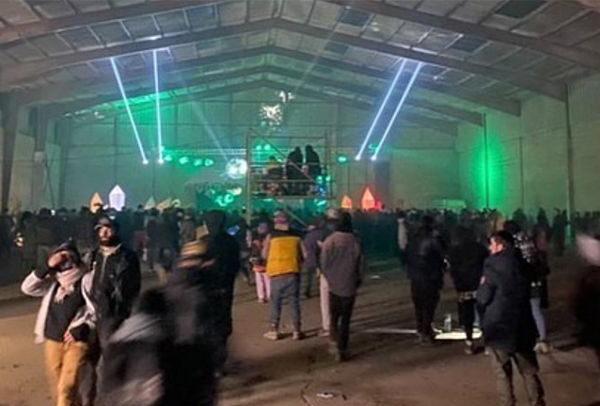 Les Inrockuptibles mentent au sujet de la free party du nouvel an et d'un possible cluster