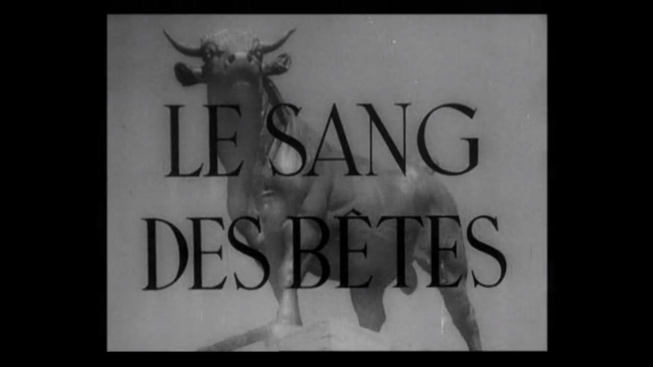 Le sang des bêtes, de Georges Franju (1949)
