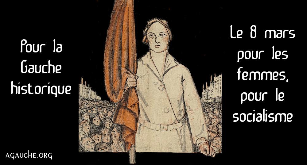 Read more about the article 8 mars 2021: les femmes doivent se défendre face à leur négation!