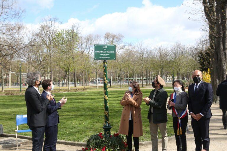 Read more about the article Anne Hidalgo : une allée des jardins des Champs-Elysées prend le nom du seigneur de la guerre Massoud