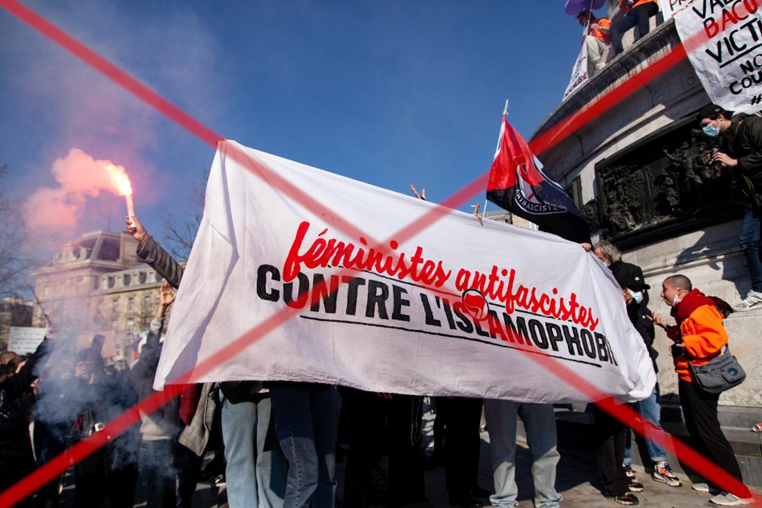 Read more about the article Encore des féministes agressées en manifestation à Paris