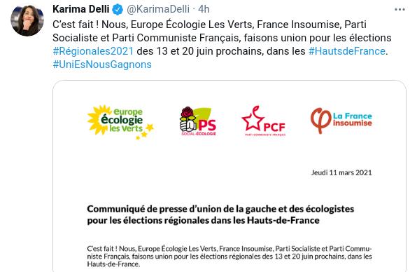 Read more about the article Hauts-de-France: l'union autour de Karima Delli ou le suicide anti-populaire