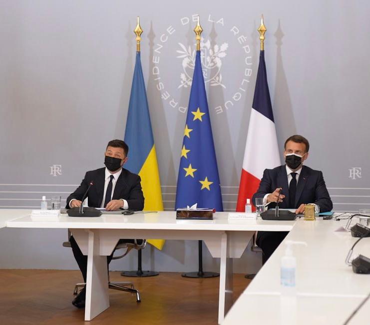 Read more about the article La visite en France du président ukrainien Volodymyr Zelensky littéralement passée sous silence