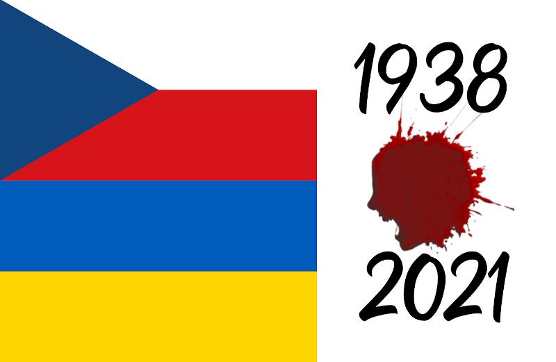 Tchécoslovaquie 1938, Ukraine 2021