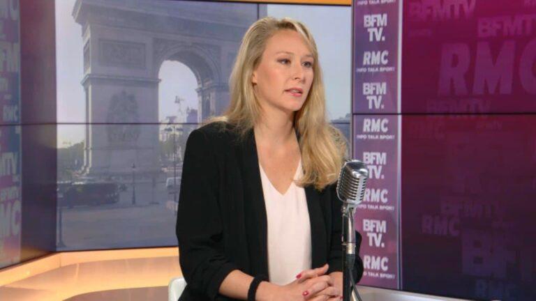 Read more about the article Marion Maréchal, porte-parole de la tribune des militaires