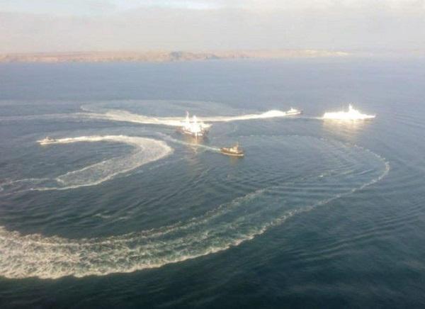La Russie ferme militairement la Mer d'Azov