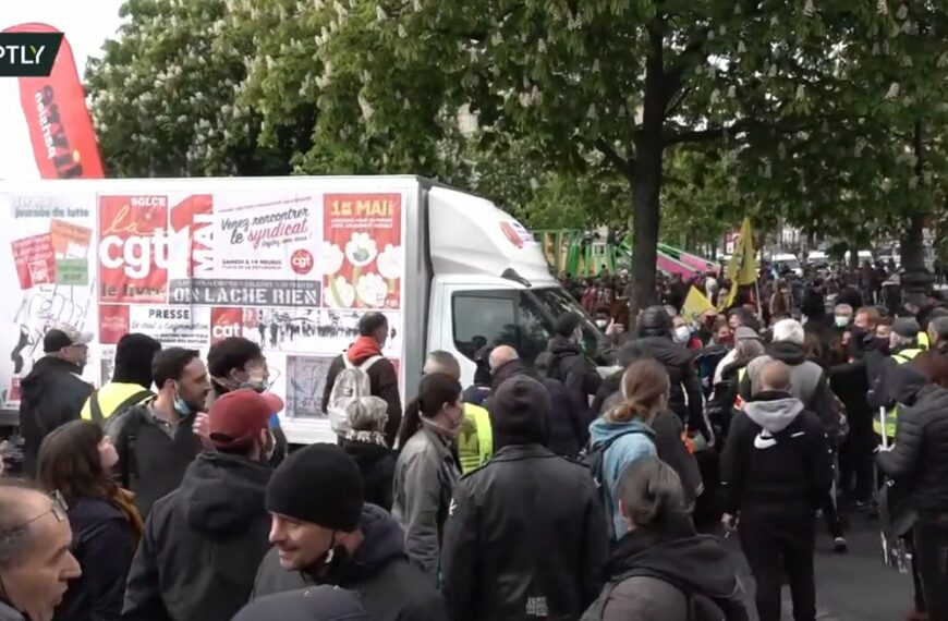 Tensions entre l'ultra Gauche et la CGT à Paris, Nantes et Lyon