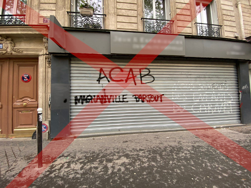 Read more about the article «ACAB Magnanville partout»