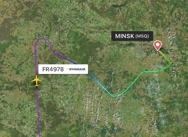 Crise ukrainienne: la Biélorussie déroute un vol aérien