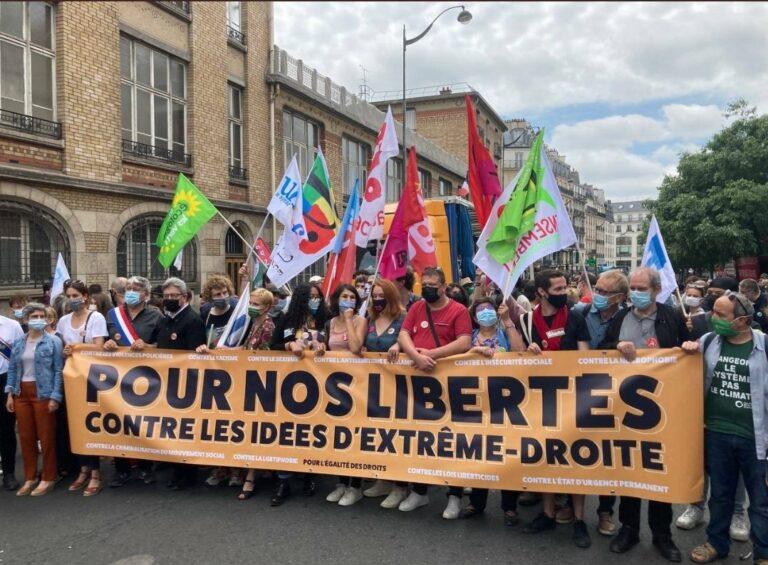 Read more about the article Fiasco complet de la «marche des libertés» du 12 juin 2021