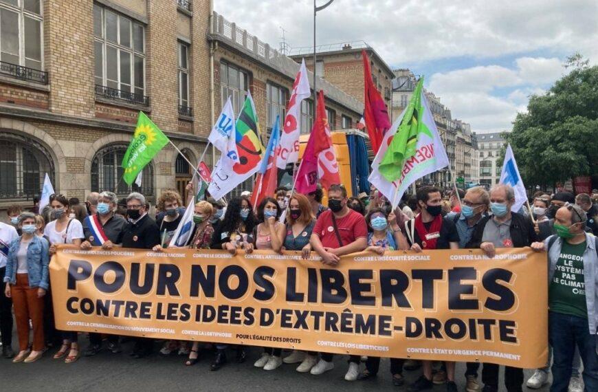 Fiasco complet de la «marche des libertés» du 12 juin 2021