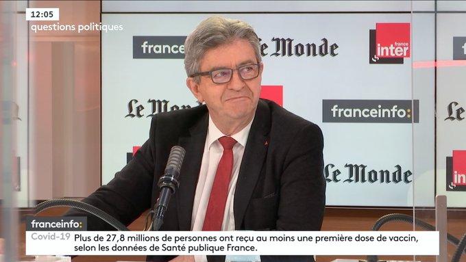 Jean-Luc Mélenchon déraille en mode complotiste