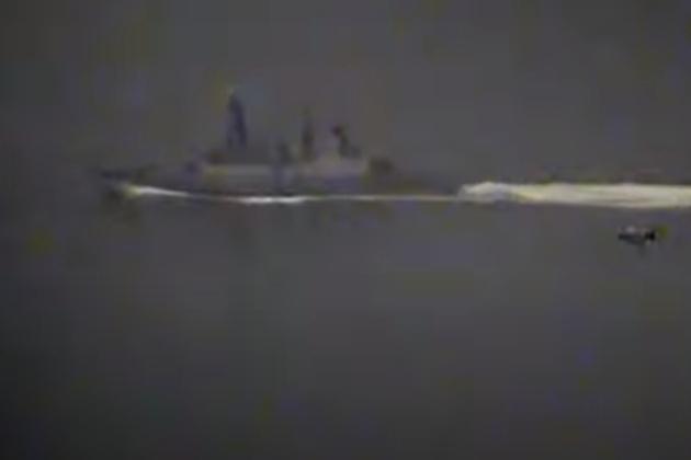 Incident militaire russo-britannique en Mer Noire