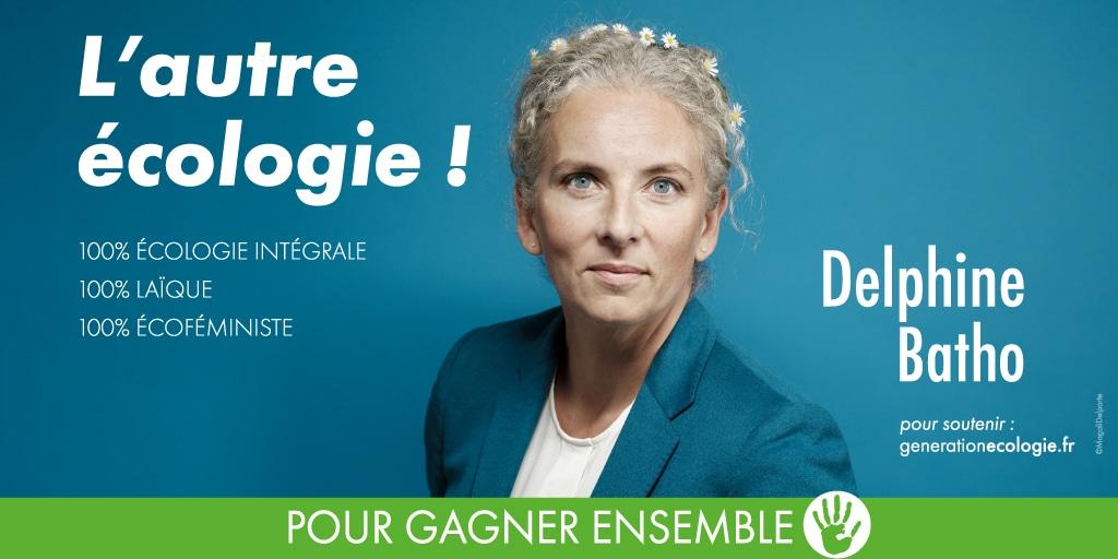 Read more about the article 2022: la candidature floue et molle de Delphine Batho à la «primaire de l'écologie»