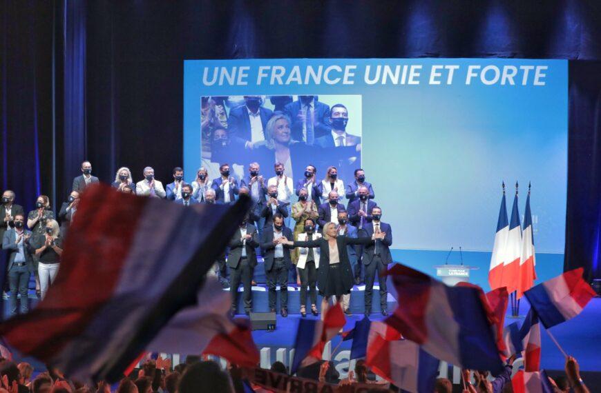 Marine Le Pen et le 18e congrès du Rassemblement national